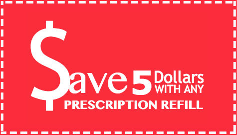 Pharmacy Medicine patient refill coupon